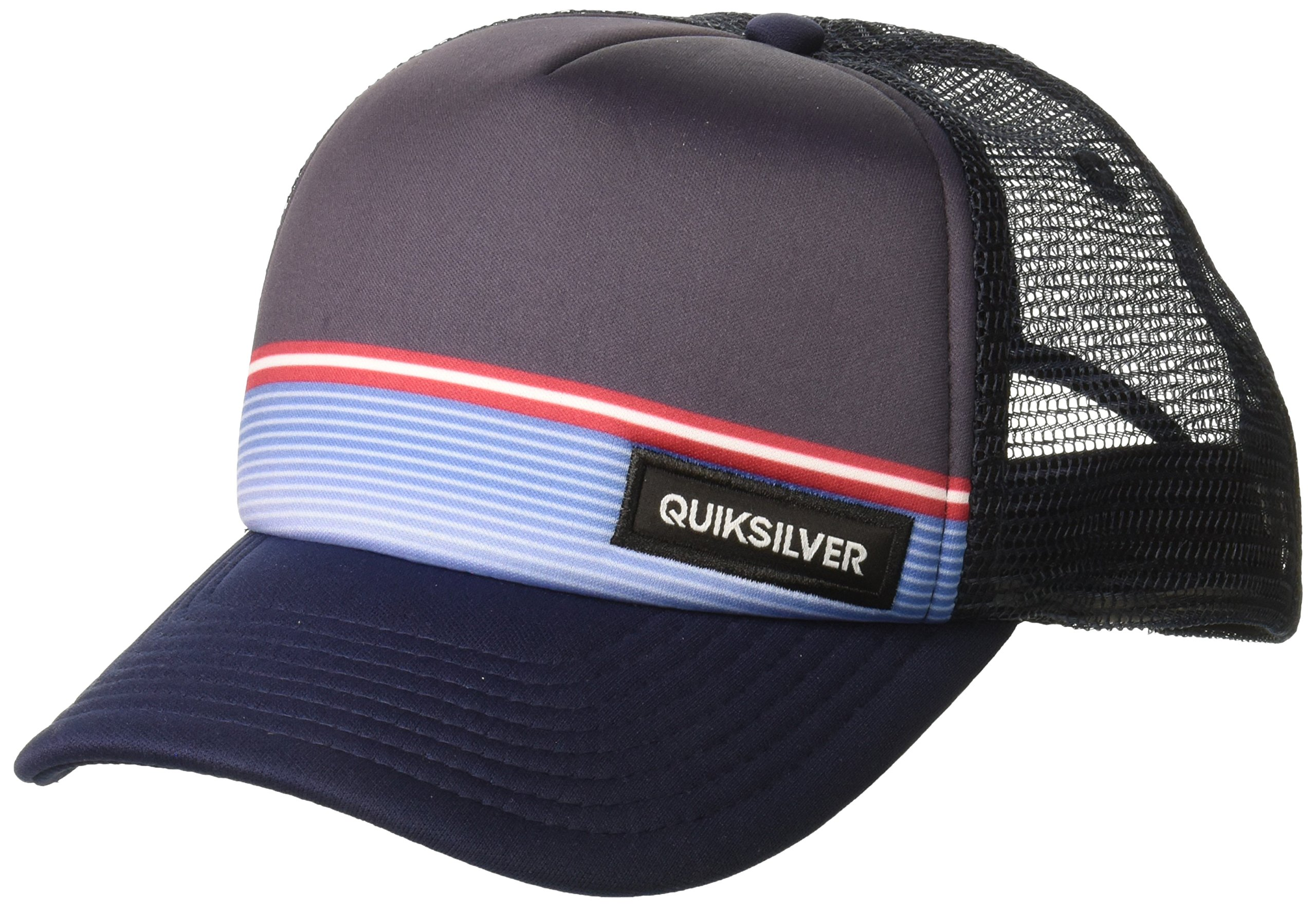 Quiksilver Men's Stripe Stare Hat, Navy Blazer, 1SZ