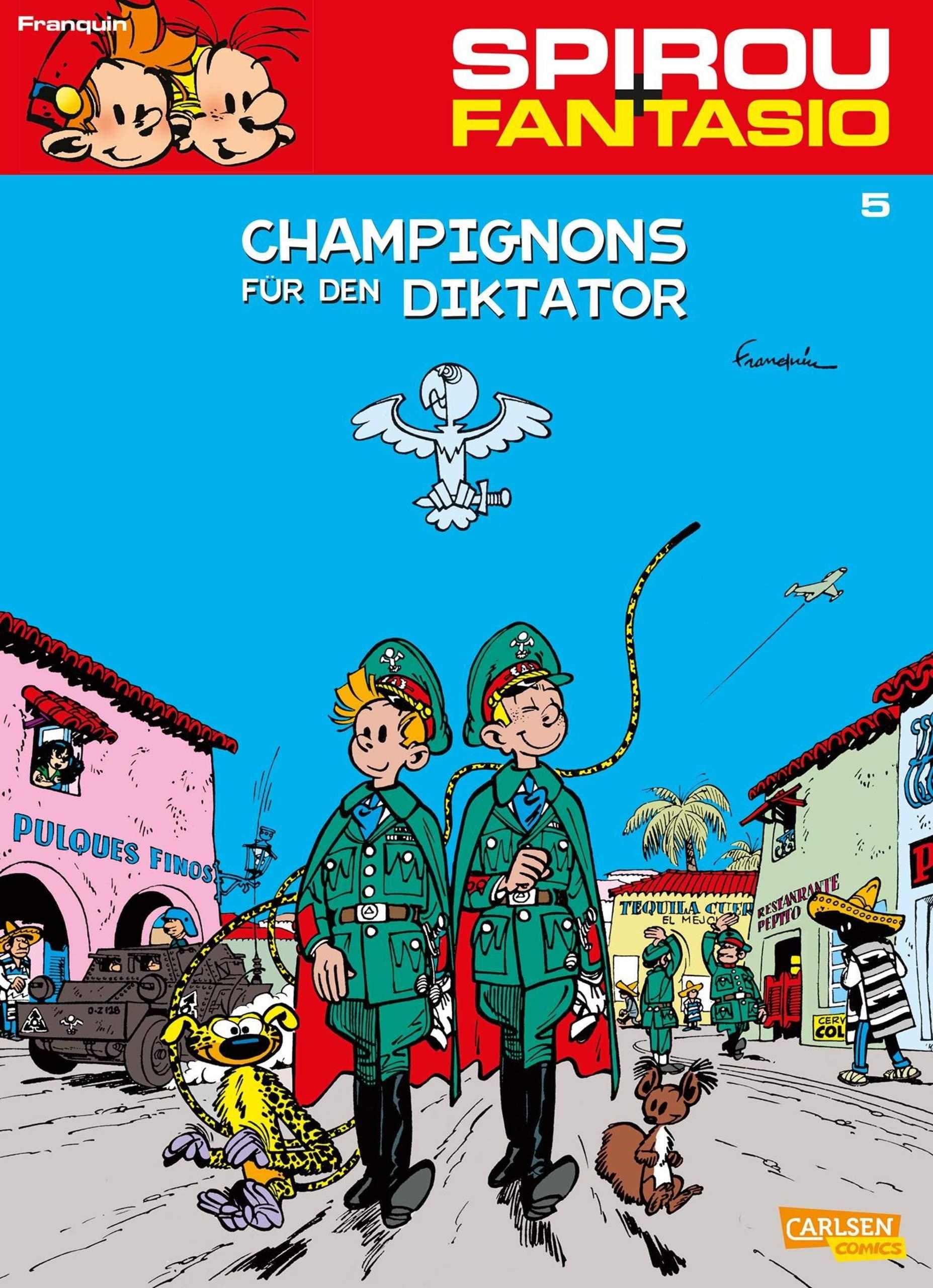 Spirou Und Fantasio 5  Champignons Für Den Diktator   Neuedition