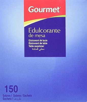 Gourmet - Edulcorante de mesa - 150 sobres - [Pack de 3]
