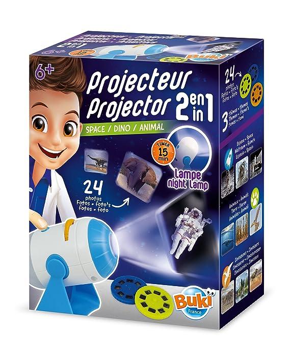 Buki France- Proyector 2 en 1 (6306): Amazon.es: Juguetes y juegos