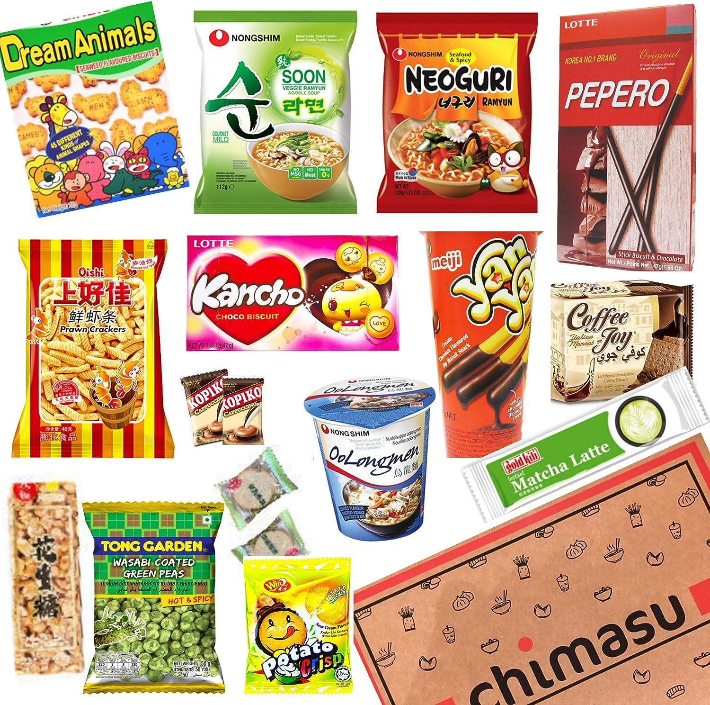 Chimasu - Caja de aperitivos asiáticos (variedad), Chimasu Box ...
