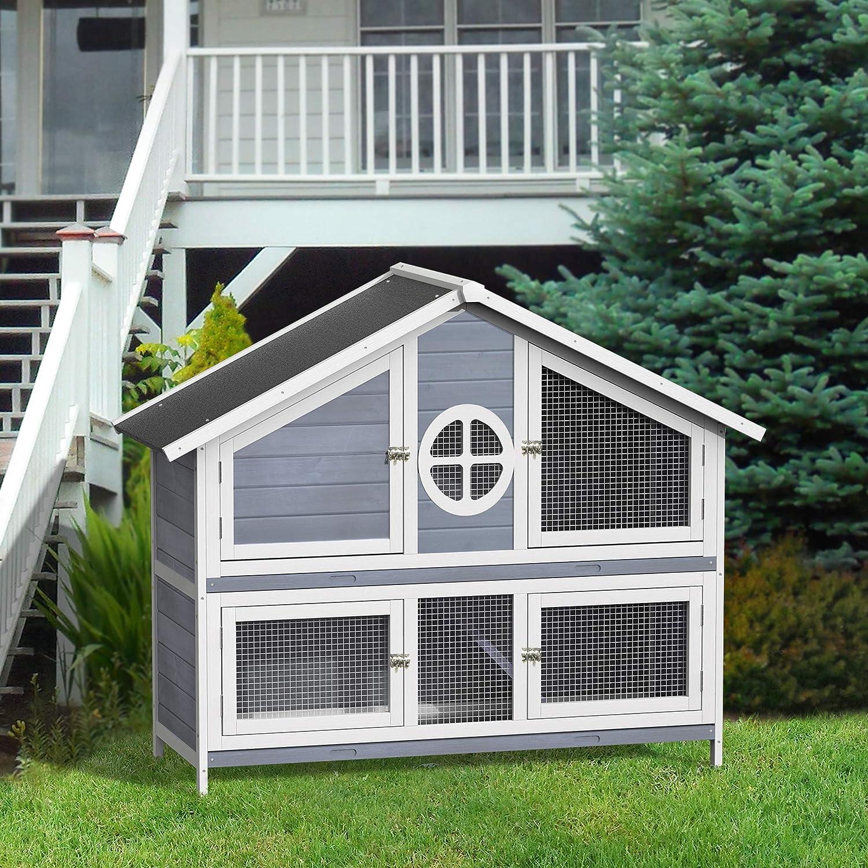 Amazon.com: Purlove - Jaula de conejo para mascotas de ...