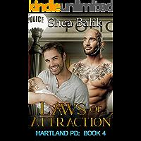 Laws of Attraction: An Mpreg Non Shifter Romance (Hartland PD Book 4)