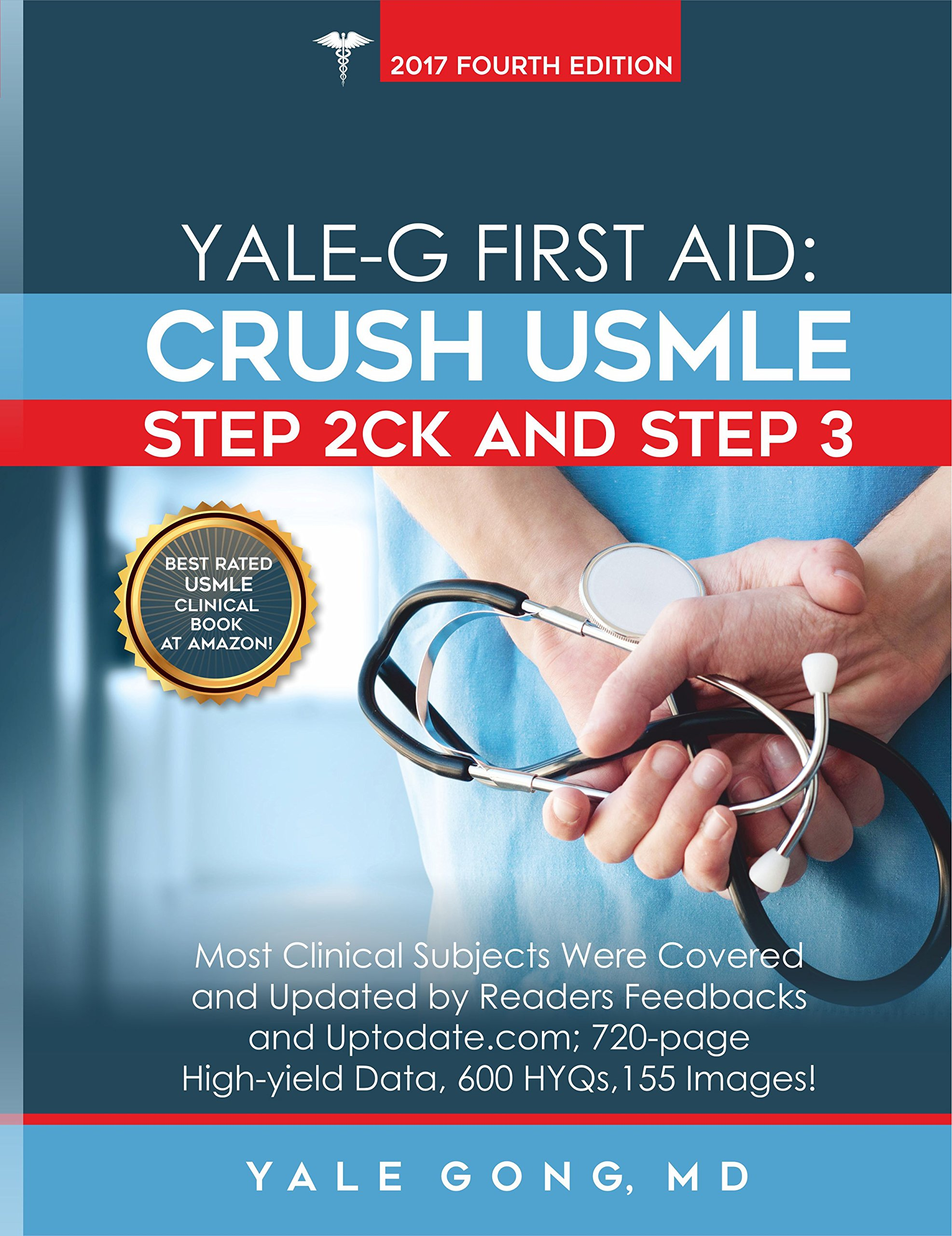 Yale G First Aid Crush Usmle Step 2ck Step 3 Ed4 Yale Gong Md