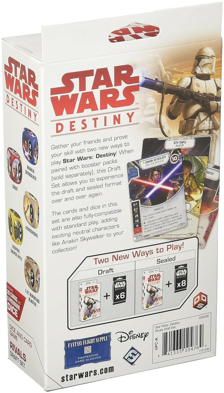 Colori Misti Rivals Progetto Set Fantasy Flight Games FFGSWD06/Star Wars Destiny