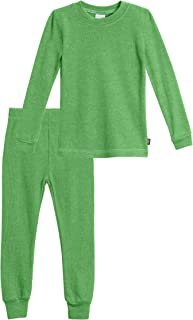 product image for City Threads Boys Thermal Underwear Set Long John, Soft Breathable Cotton Base Layer - Made in USA