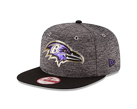 size 40 6bd24 58474 Image Unavailable. Image not available for. Color  NFL Baltimore Ravens  2016 Draft 9Fifty Snapback Cap, One Size, Heather Gray