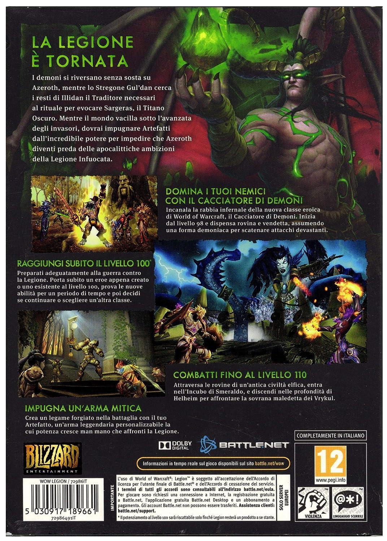 World Of Warcraft Legion [Importación Italiana]: Amazon.es ...