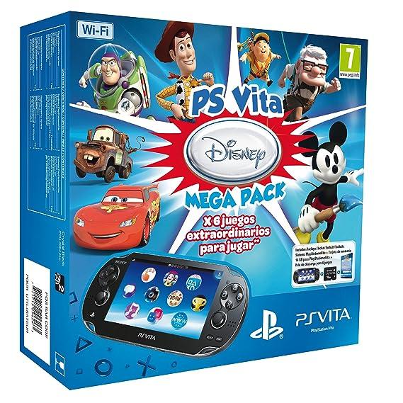 PS Vita - Consola + Megapack Disney + Tarjeta De Memoria 16 GB ...