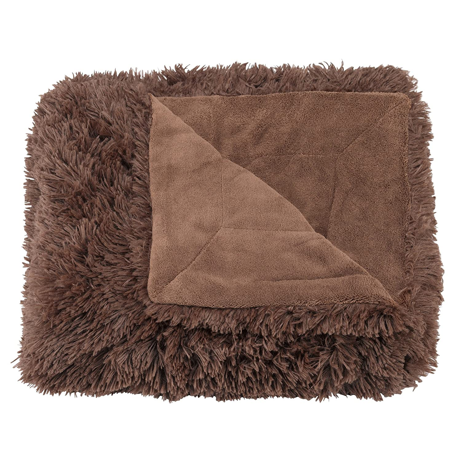 Britannica home fashions tencel sheets - Amazon Com Casual Living Super Plush Shaggy Oversized Throw 60 By 70 Inch Brown Home Kitchen