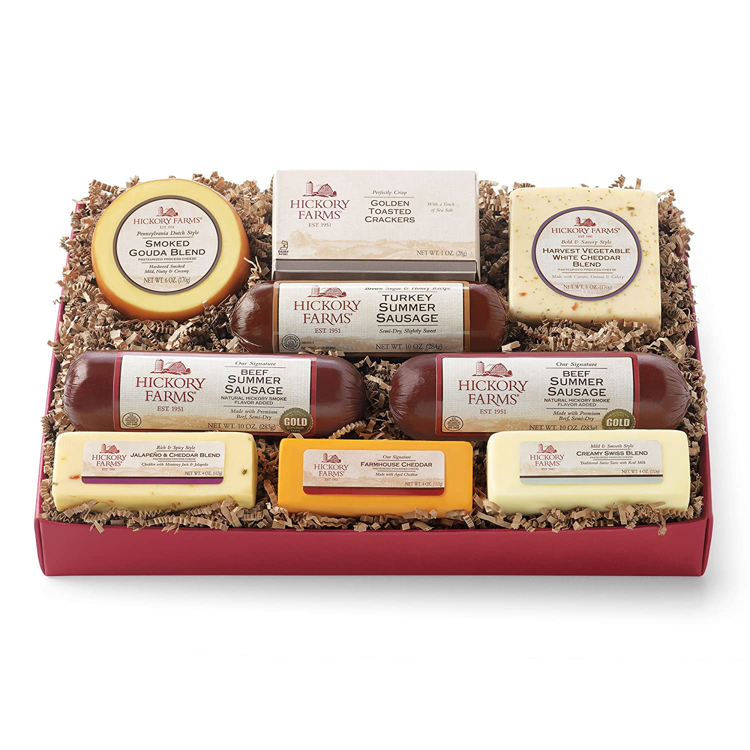 Hickory Farms Celebration Collection: Amazon.com: Grocery ...
