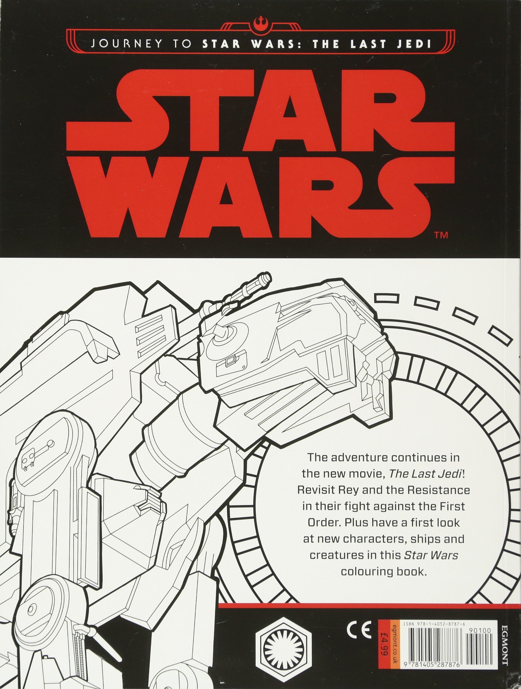 Star Wars Journey To The Last Jedi Colouring Book Amazon De Not Available Na Fremdsprachige Bucher