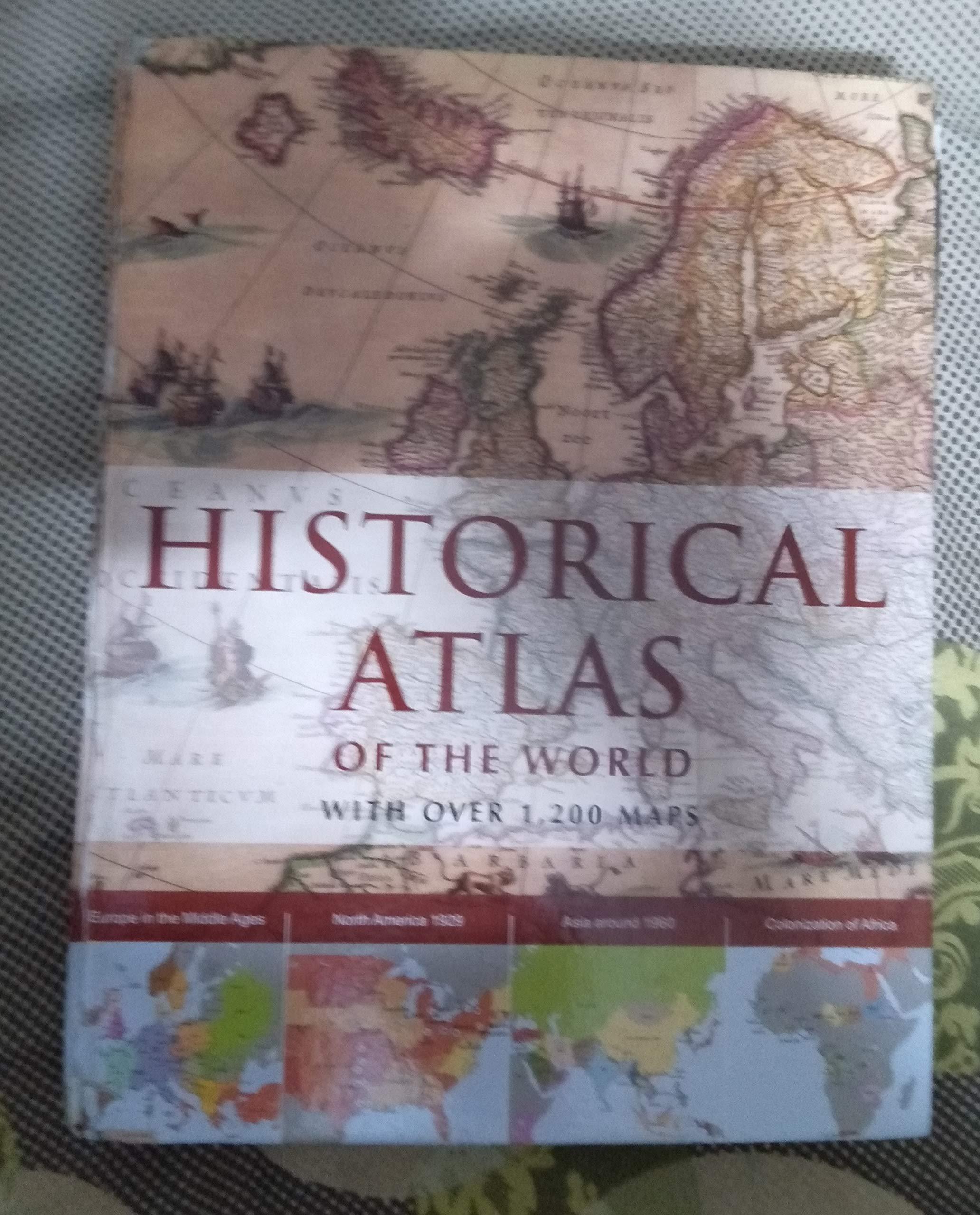 HISTORICAL ATLAS OF THE WORLD: Amazon.es: Ludwig Konemann: Libros en idiomas extranjeros