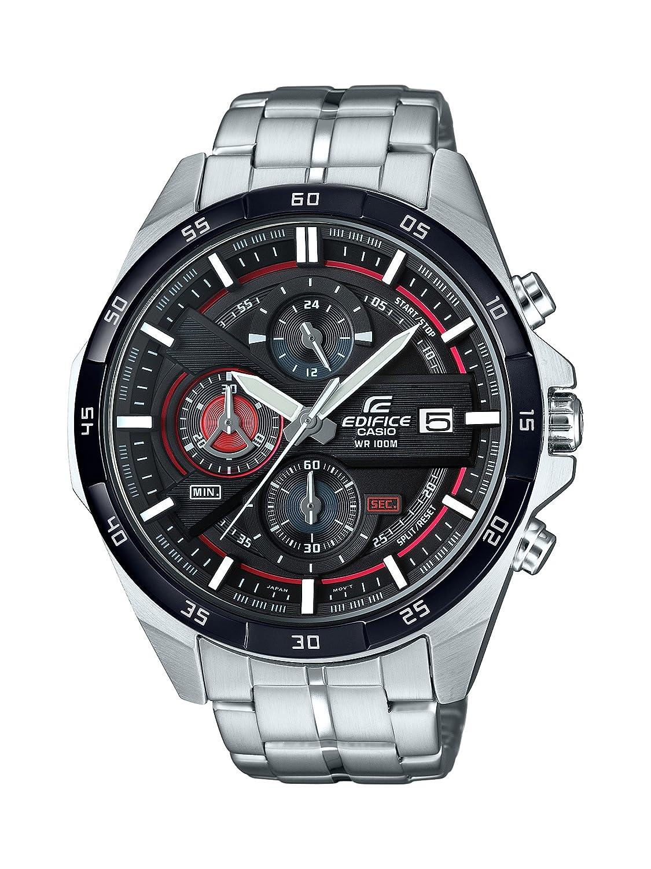 aa5ee2d0fcf2 Casio Reloj Cronógrafo para Hombre de Cuarzo con Correa en Acero Inoxidable  EFR-556DB-1AVUEF  Amazon.es  Relojes
