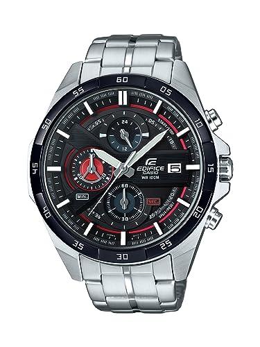 b7b3ad88a618 Casio Reloj Cronógrafo para Hombre de Cuarzo con Correa en Acero Inoxidable  EFR-556DB-1AVUEF  Amazon.es  Relojes