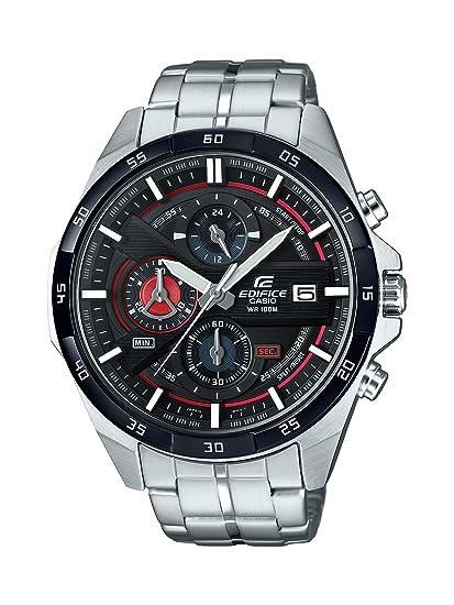 Casio Reloj Cronógrafo para Hombre de Cuarzo con Correa en Acero Inoxidable EFR-556DB-