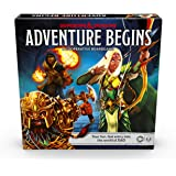 Dungeons & Dragons Adventure Begins, Cooperative Fantasy Board Game, Fast Entry to The World of D&D, Family Game for 2-4 Play
