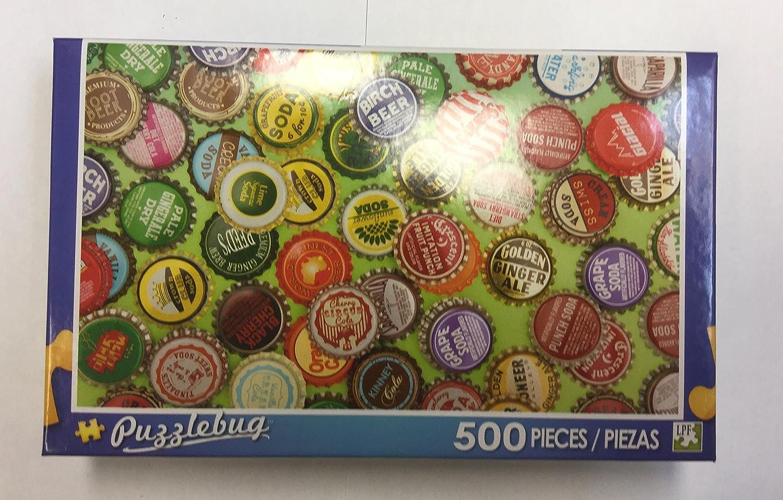 Puzzlebug Piece 500 B079CW3CJG Piece Puzzle (ヴィンテージボトルキャップ Puzzle B079CW3CJG, サクラ サーフ&スポーツ 江ノ島:7ce4a16b --- ero-shop-kupidon.ru