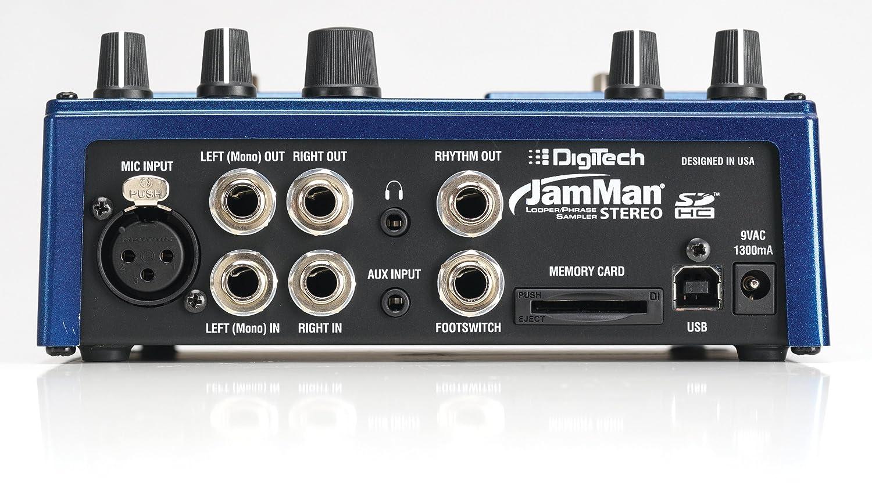 Digitech Jam Man Stereo Looper Delay Pedal Musical Tangan Digitec Original 3702n Instruments