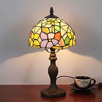 Pouces Chevet Lampe 8 De Ancienne Rétro Pastorale Hdo Multicolore qARcj34L5