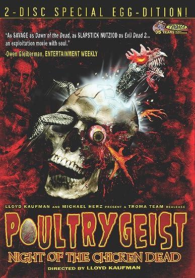 Poultrygeist: Night of the Chicken Dead Reino Unido DVD: Amazon.es: Cine y Series TV