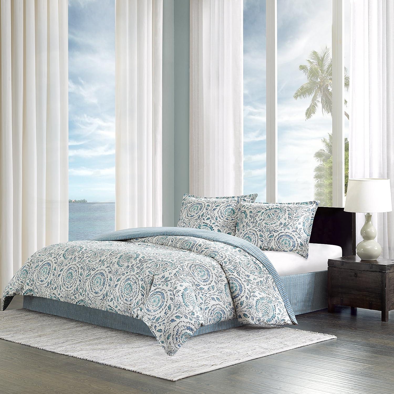 Amazoncom Echo Design Kamala Comforter Set Full Blue Home Kitchen
