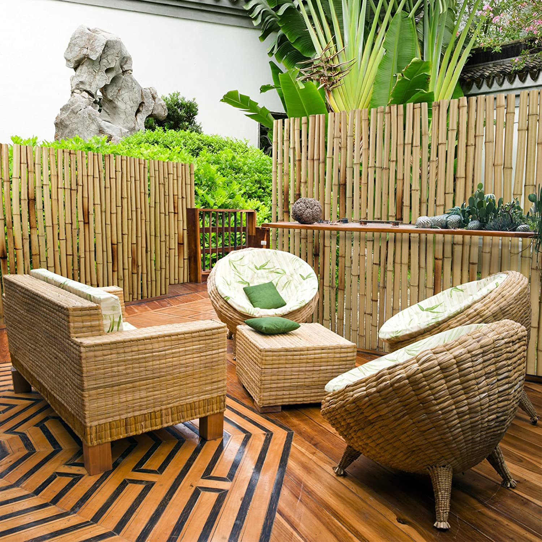 Casa Pura Bambus Sichtschutz Bambusmatte In Premiumqualitat