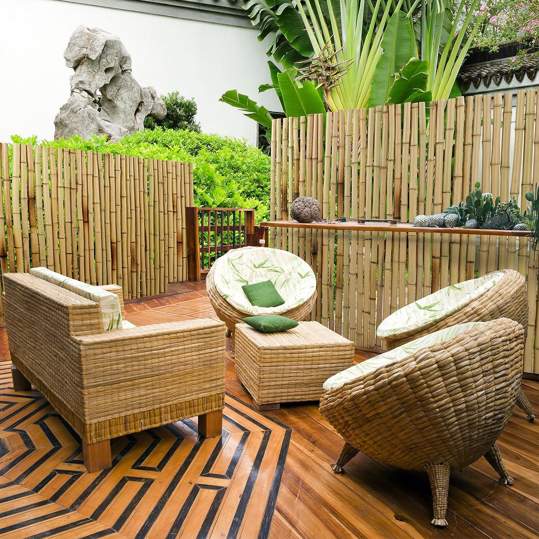 neueste sichtschutz schilfmatten konzept terrasse design ideen. Black Bedroom Furniture Sets. Home Design Ideas