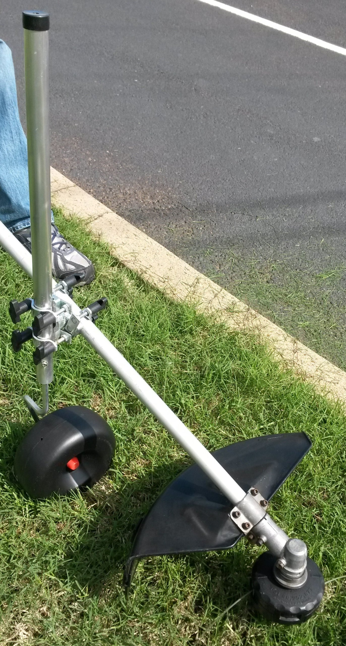 Trimmer Caddy: Support Attachment for Weed, Grass, Lawn, & String Trimmers by Trimmer Caddy