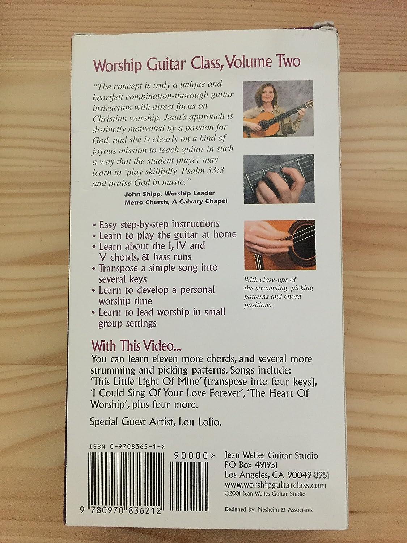 Amazon Worship Guitar Class Volume Two Vhs Jean Welles