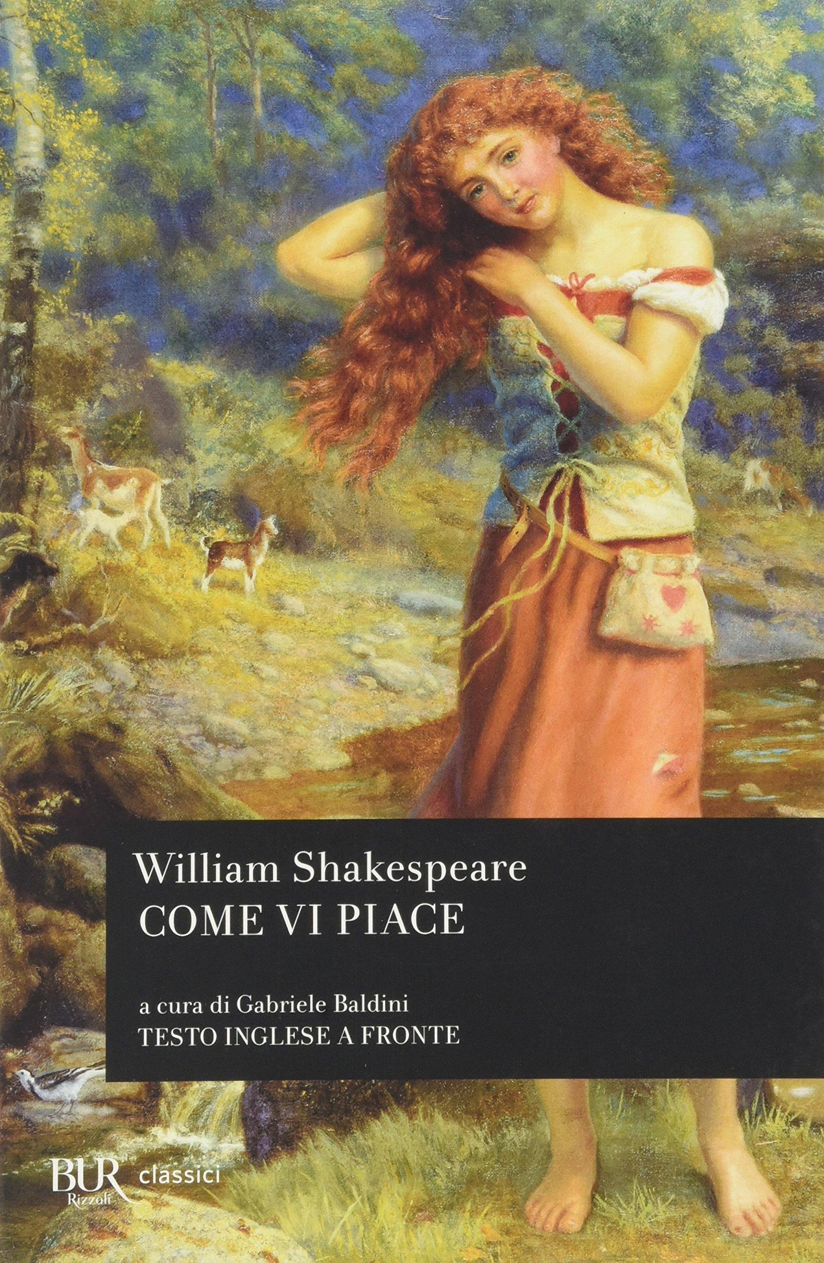 Risultati immagini per come vi piace shakespeare