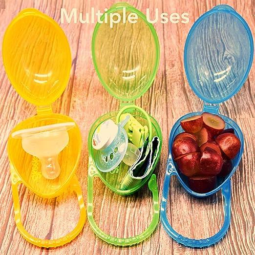Amazon.com: Chupete funda), diseño de, Set de 3: Baby