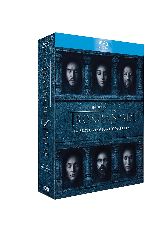 Il Trono di Spade - Stagione 6 4 Blu-Ray Italia Blu-ray ...