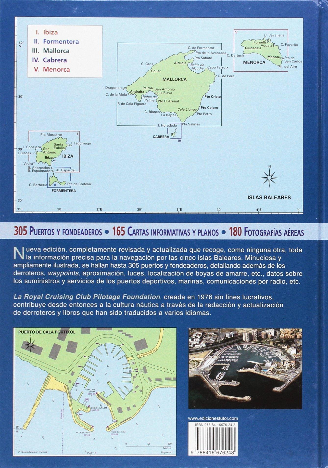 Guías Náuticas Imray. Islas Baleares. Nueva edición revisada ...