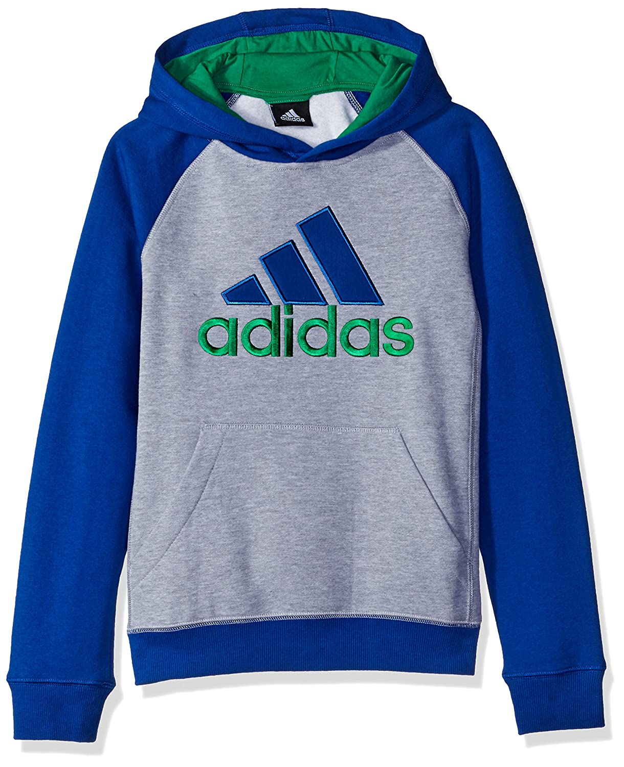 adidas Boys' Fleece Blocked Hoodie BABA5GU9 A3G