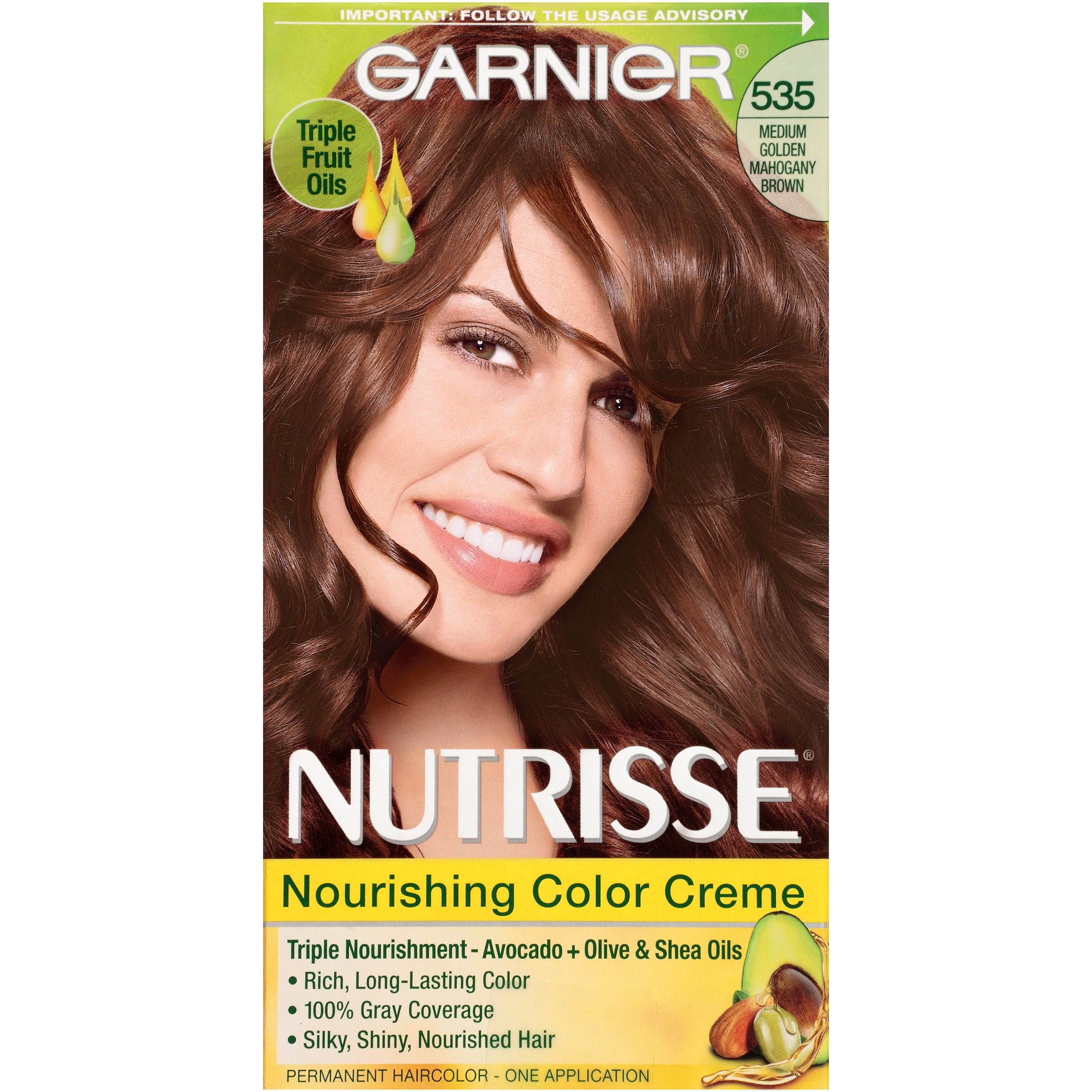 Garnier Nutrisse Nourishing Color Creme 535 Medium Gold