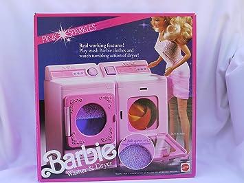 Barbie waschmaschine und trockner amazon spielzeug