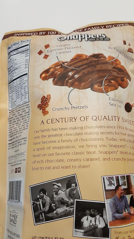 Amazon.com : SNappers Caramel Macchiato With Milk Chocolate ...