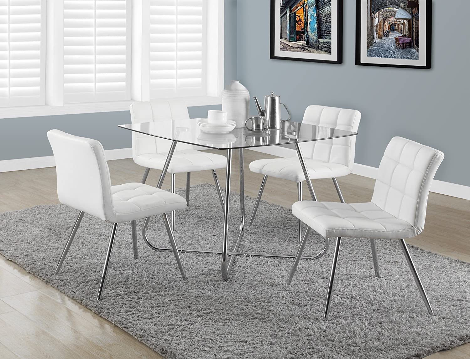p en kitchen acadian room parson and grey chairs chair wood white furniture solid dining brown polyester depot armless home the seat decor with canada categories of set