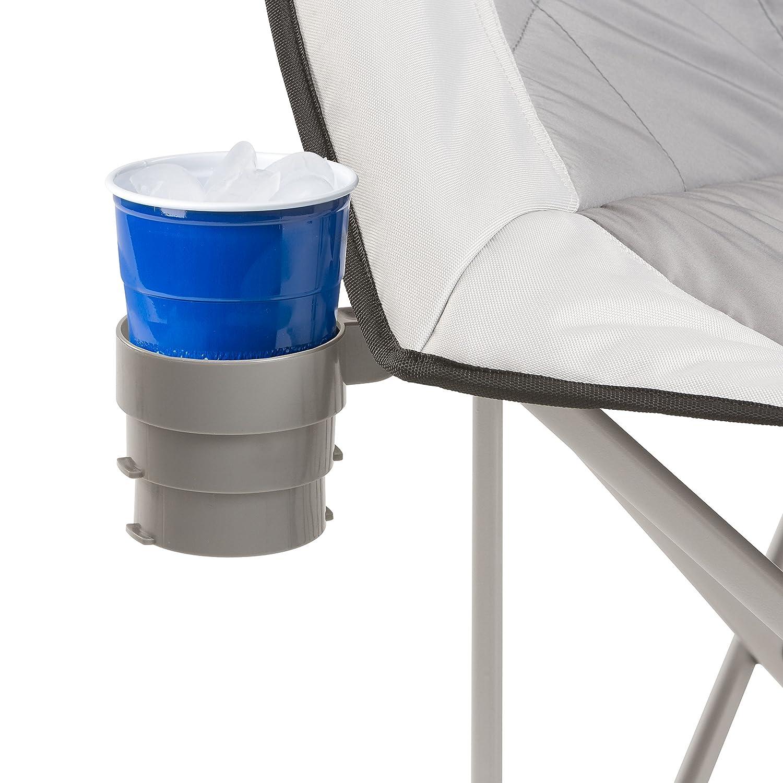 Amazon CORE Folding Oversized Padded Moon Round Saucer Chair