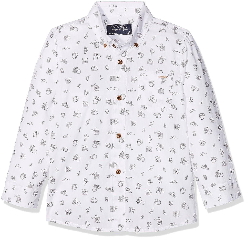 Sizes 2-9 Mayoral Boys Printed Shirt