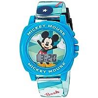 Boy's Digital Plastic Casual Watch, Color:Blue (Model: MK1328)