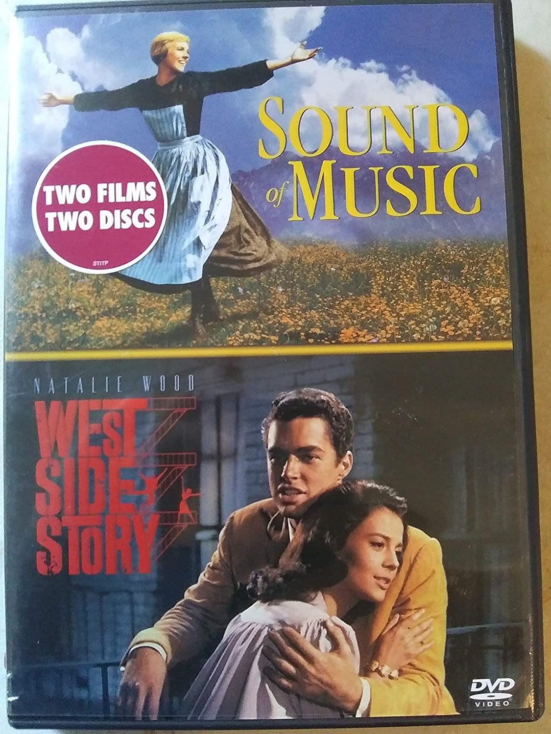 Sound Of Music And West Side Story Two Films Two Discs Movies Tv