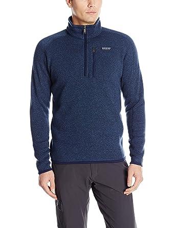 83ee5aec54972 Patagonia Men's Better Sweater 1/4 Zip