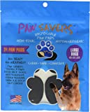 Large Paw Savers, Disposable Dog Paw Pads, (45-58 lbs) 24 Pieces