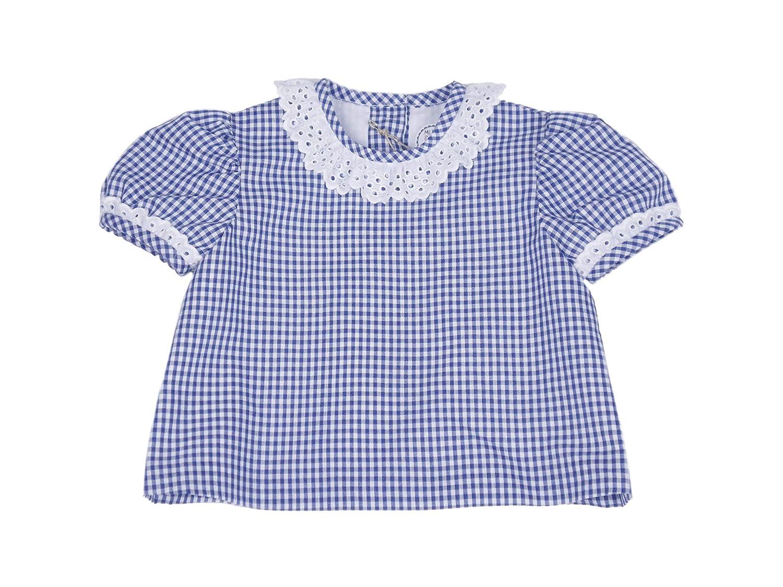 MI HIJA Y YO Camisa y Ranita de Vichy y Piqué Modelo Petín para Bebé (de 0 a 12 Meses) - Hecho a Mano - Colección Luz Marina - Excellent: Amazon.es: Ropa y ...