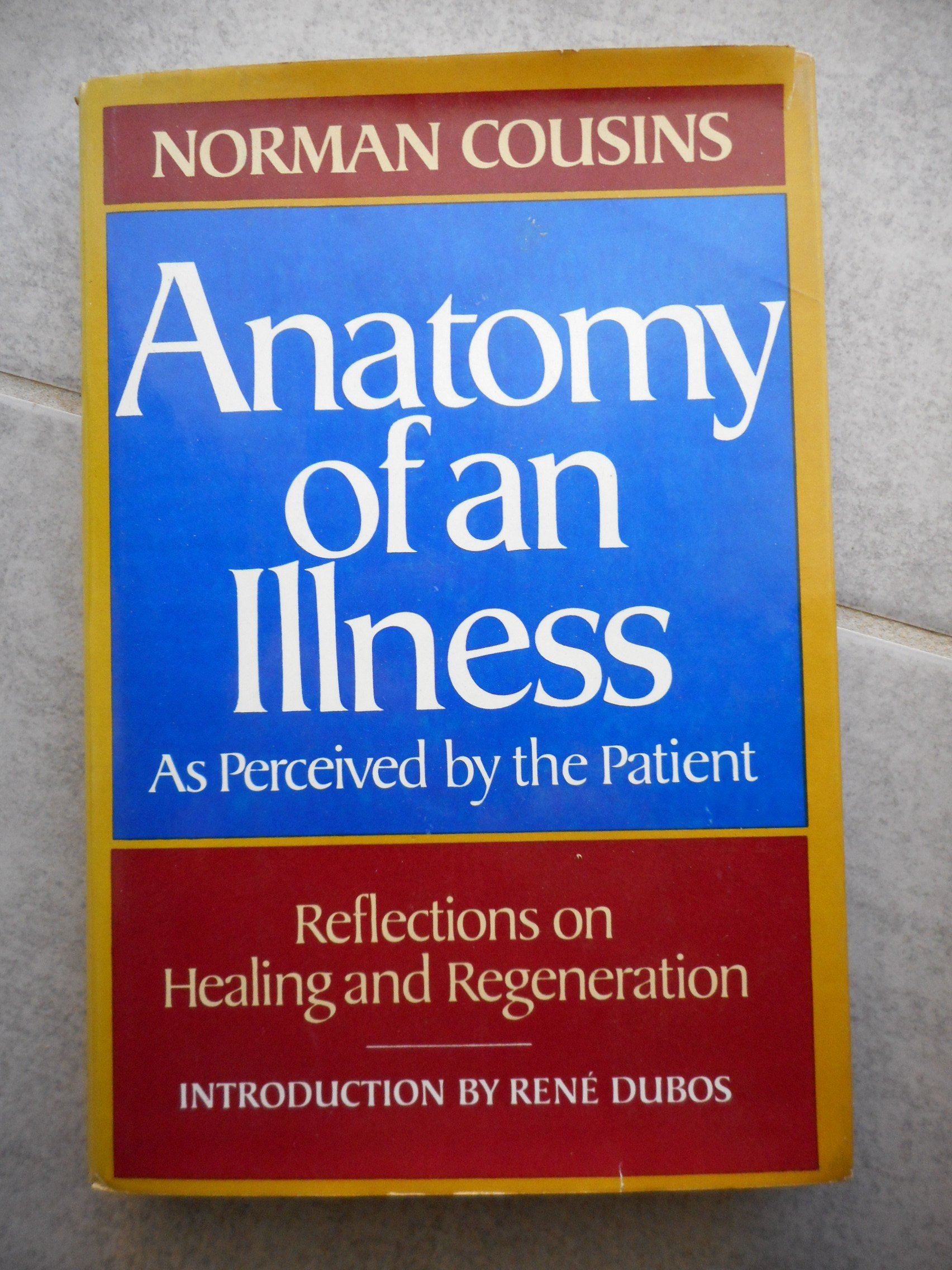 ANATOMY OF AN ILLNESS.: Amazon.co.uk: Norman Cousins: 0884611685999 ...