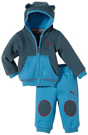 Puma bebé Traje de niño con Capucha Story Azul Azul Talla:86 ...
