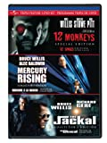 Bruce Willis Triple Feature (12 Monkeys / Mercury Rising / The Jackal) (Version française)