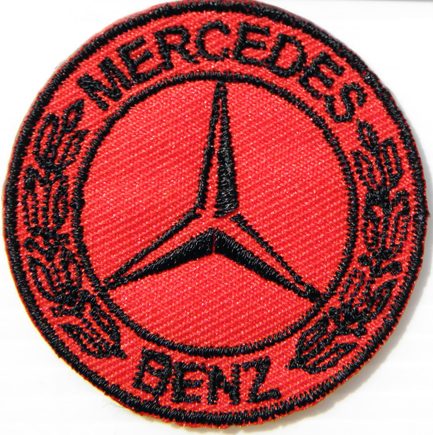 Mercedes Benz Logo Sign AMG Sport Car Racing Patch Sew Iron on Applique Embroidered T shirt Jacket BY SURAPAN